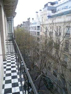 Vivienda exterior en edificio se�orial