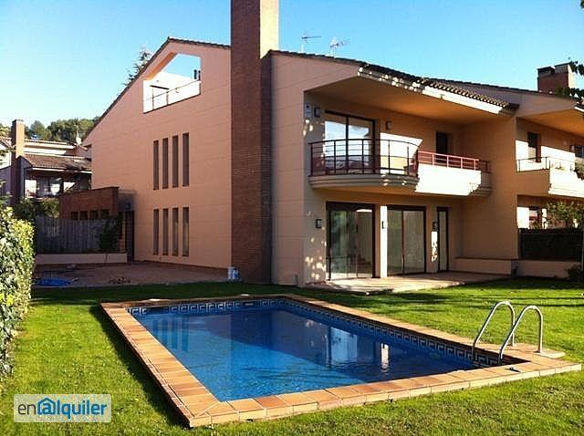 Alquiler casa Sant Cugat del Valles foto 0