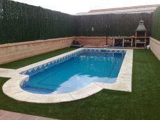 Chalet con piscina privada en Navas del Rey