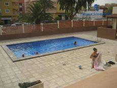 Residencial con piscina, amplia terraza. Costa del Silencio