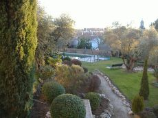 Piso bajo con jardin casco historico