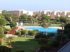 Bonito piso 1 hab, Piscina, junto a playa la Tejita, terraza