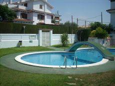 3 habitaciones con garaje y piscina