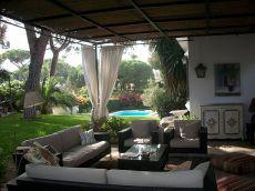 Vistahermosa, chalet amueblado con piscina, jard�n y porche