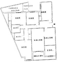 Piso en alquiler 4 dormitorios zona marchalenes