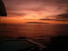 Estudio con terraza, vistas al mar y piscina. Callao Salvaje