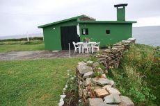 Foz Lugo Alquiler chale 1 linea pegado orilla mar c