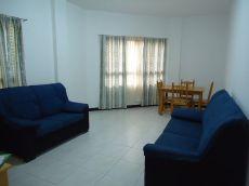Piso 1 dormitorios, exterior, amueblado, c. C Atl�ntico.