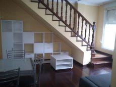 Piso duplex lujo ferrol centro muebles casi nuevos