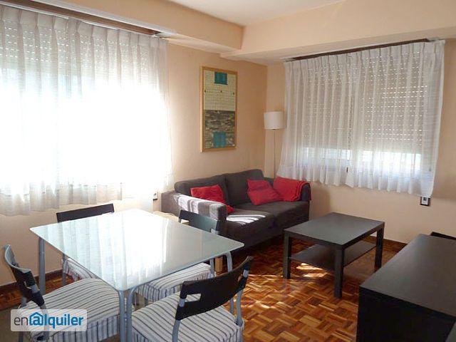 Soleado piso amueblado en alquiler, zona Plaza de San Pablo foto 0