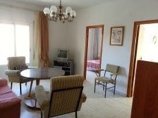 Se alquila piso 110 m2 de 4 habitaciones y 2 ba�os amueblado