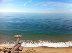 Piso con vistas al mar junto a playa de Santa Mar�a