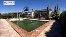 Alquiler casa garaje y piscina La hoya