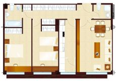 Alquiler piso de 95m2 calle Amparo 103