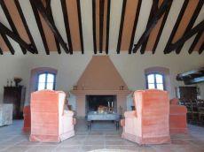 Alquiler cortijo Siglo xvii Malaga Interior y finca