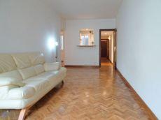 Piso en alquiler de 65 m2 sin amueblar. 3 habitaciones.