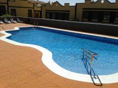 Tr�plex adosado, 2 terrazas, piscina. Llano del Camello