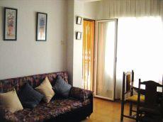 Lloret centro,piso de 2 hab,amueblado,60 m2