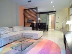 D�plex en alquiler de 110 m2 amueblado. 3 habitaciones