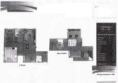 Duplex de cuatro dormitorios sin muebles con garaje y traste