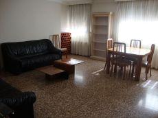 Alquiler piso 4 habitaciones amueblado en patraix valencia