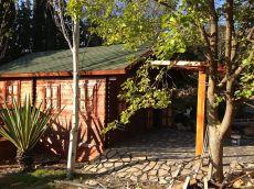 Sin comisiones. Casa de madera en finca junto parque tecn.