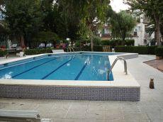Planta baja muy acogedora/con piscina,terraza,tenis y jard�n