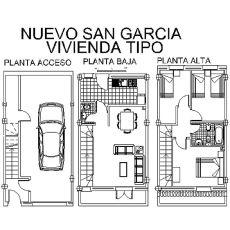 Unifamiliara en Nuevo San Garcia