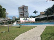 Piso en Playa de San Juan, 2 dorm. ,terraza,piscina,muebles.
