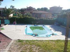 Chalet con piscina