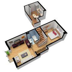Duplex en coslada de 1 d amueblado