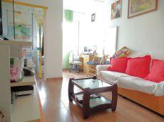 Piso en alquiler de 35 m2 semiamueblado. 1 habitaci�n