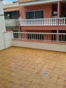Se alquila piso sin muebles, terraza de 25m. Santa �rsula