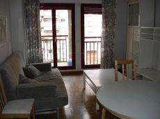 Apartamento 1 dormitorio, amueblado, exterior