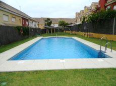 Zona del redes con piscina comunitaria