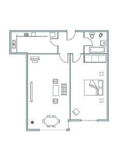 Piso de un dormitorio , Ciudad Lineal, zona Ventas