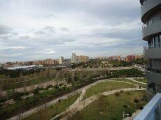 Alquiler piso Valencia Exterior vistas parque Cabecera