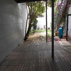 Planta baja con patio de 100 m2