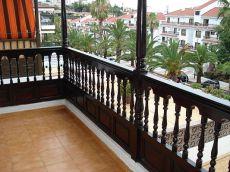 Piso 1 dormitorio, terraza con vistas, amueblado