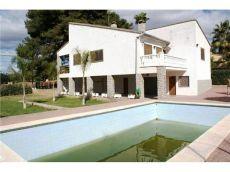 Ref 06179 magnifico y gran chalet en alquiler con piscina, pista de tenis, fronton y paellero