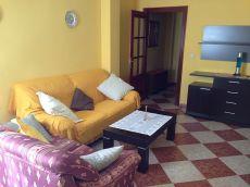 Piso amueblado de dos dormitorios en Albolote