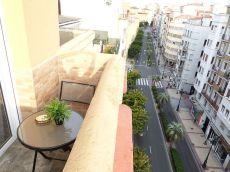 Atico amueblado centrico zaragoza con 3 terrazas