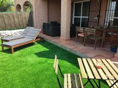 Apartamento en mojacar tranquilo y con jardin
