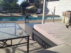 Gran chalet lujoso con piscina en tarragona