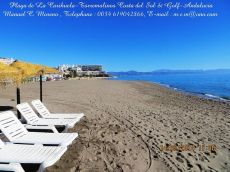 La Carihuela cerca playa alquilo Apartamento ,jardin Piscina