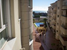 Alquiler piso dos dormitorios y dos ba�os con vistas al mar