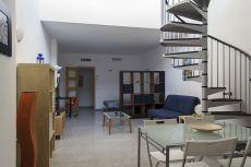 Loft de obra nueva amueblado con terraza privada