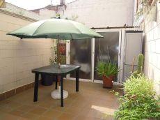 Planta baja con patio, muebles, electrodom�sticos y pk