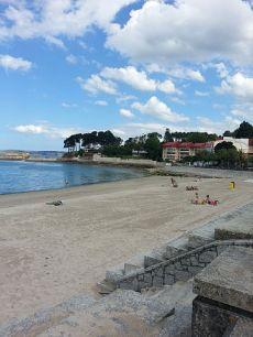 Primera linea de playa con terraza