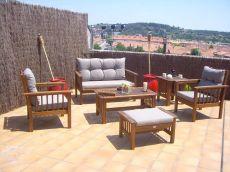 Precioso �tico con terraza, piscina y parking